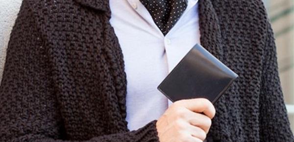 最高峰にして最上級のメンズ二つ折り財布です