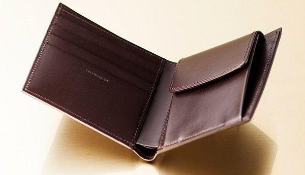 最高級にして最上級のメンズ二つ折り財布