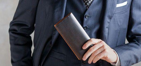 スーツスタイルに合う財布
