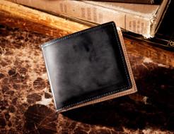 見逃せない「コードバン二つ折り財布」が再販されます