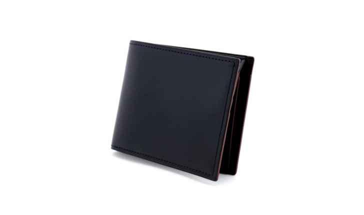 グレージングカーフ小銭入れ付き二つ折り財布