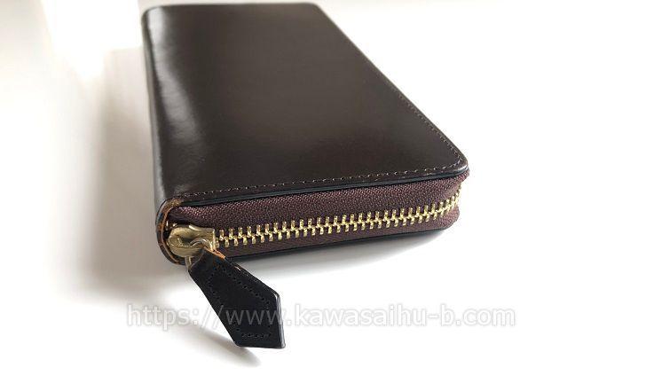 5年使ったブライドルレザー財布