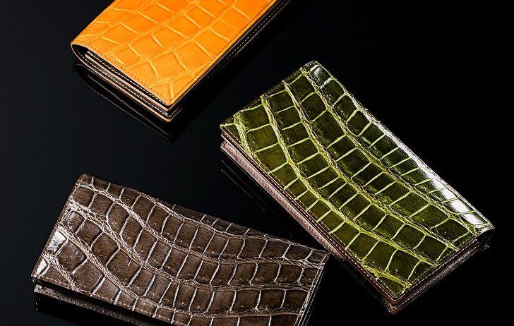 新品のクロコダイル財布を選ぶ