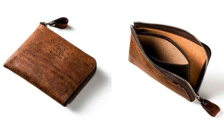 小銭が入るキャッシュレス財布